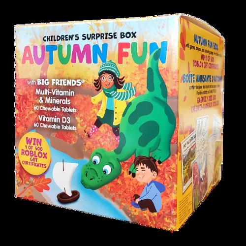 Natural Factors Autumn Fun Children's Surprise Box with Big Friends