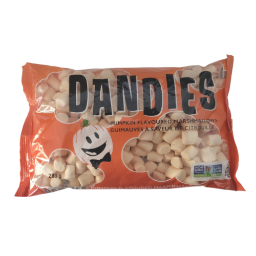 Dandies Pumpkin Flavoured Marshmallows 283 grams