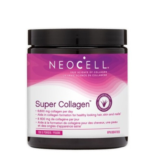 Super Collagen Type 1 & 3 for beautiful skin, hair, nails, and strong muscles, ligaments, tendons and more.  198 grams.
