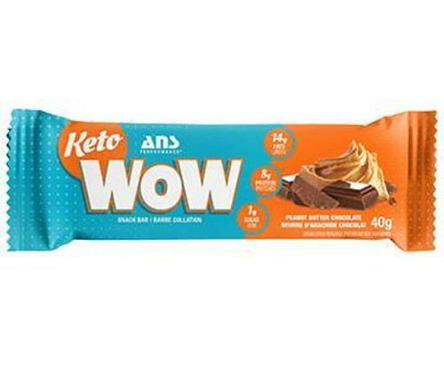 Ans Performance KETOWOW Peanut Butter Performance Snack Bar 40 grams