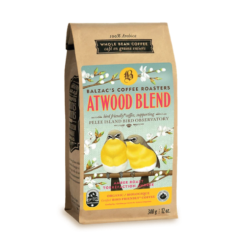 Balzac's Coffee Roasters Atwood Blend Amber Roast Whole Bean 340 grams