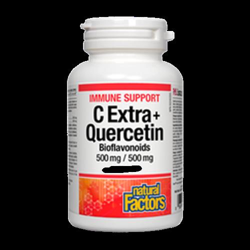 Natural Factors C Extra+ Quercetin 60 tablets