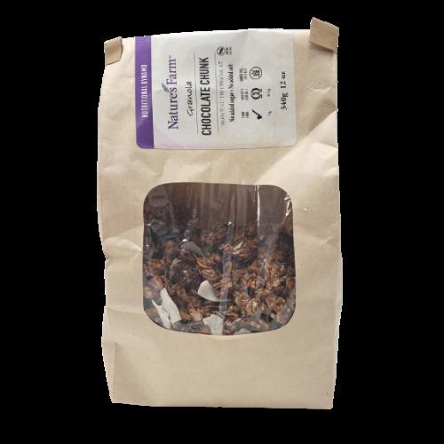 Natures Farm Granola Chocolate Chunk 340 grams