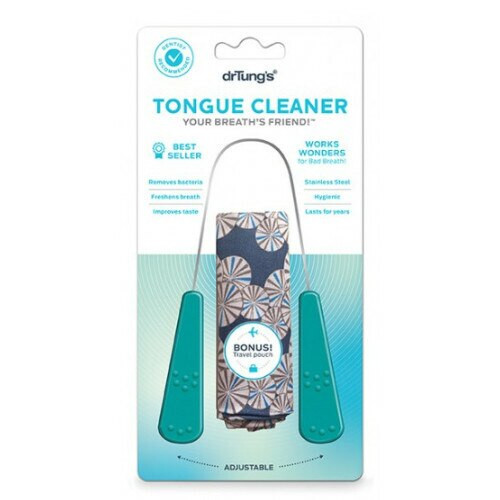 Dr. Tung's Tongue Cleaner Removes Bacteria