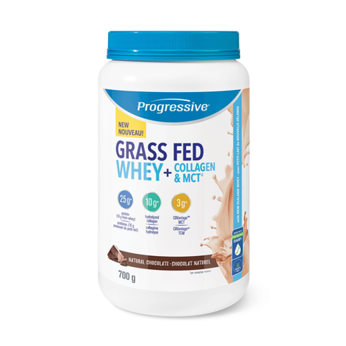 Progressive Grass Fed Whey + Collagen & MCT Natural Chocolate 700 grams