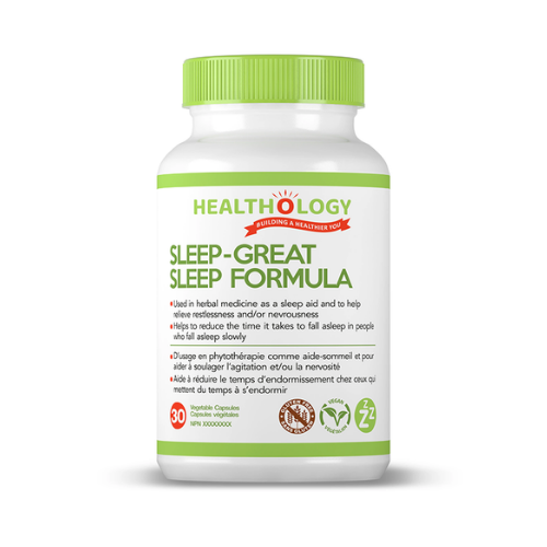Healthology Sleep-Great Sleep Formula 30 veg caps