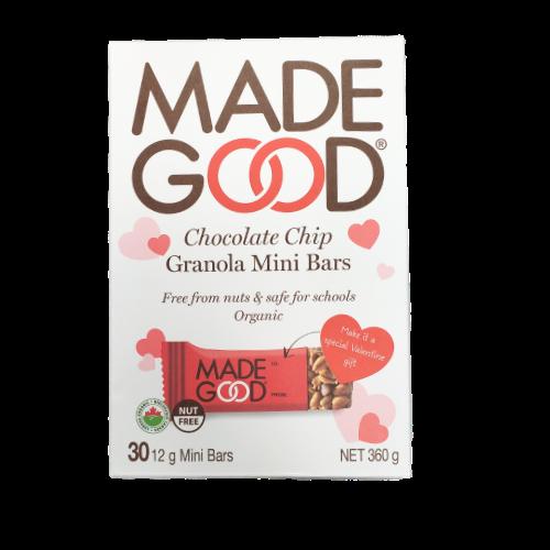Made Good Valntine Gift Chocolate Chip Granola Mini Bars 30 x 12g bars