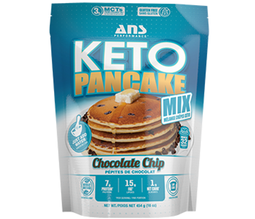 Ans Performance Keto Pancake Mix Chocolate Chip 454 grams