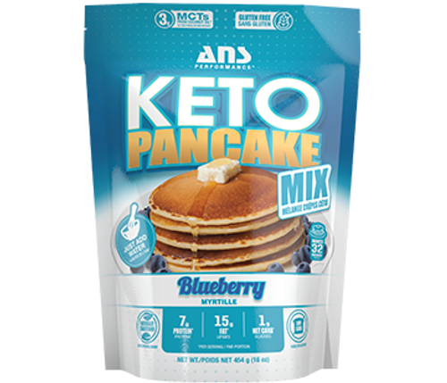 Ans Performance Keto Pancake Blueberry Mix 454 grams