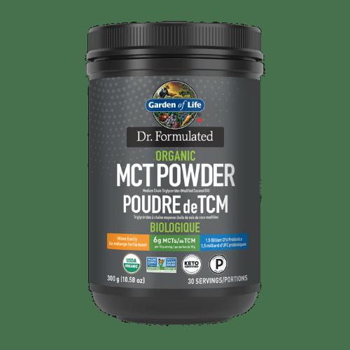 Garden of Life Dr. Formulated Organic MCT Powder 300 grams