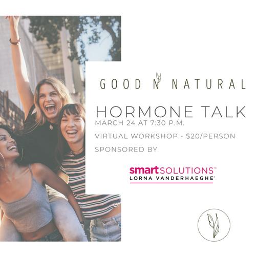 GNN Hormone Talk Virtual Workshop