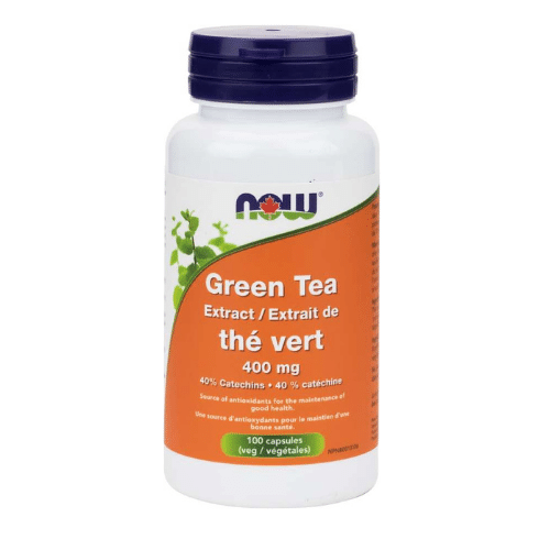 NOW Green Tea Extract 400 mg 100 capsules