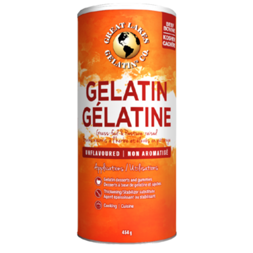 Great Lakes Gelatin Unflavoured 454 grams