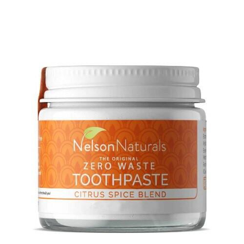 Nelson Naturals Citrus Spice Blend Toothpaste  93 grams