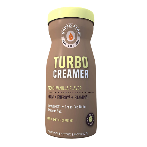 Rapid Fire Turbo Creamer French Vanilla Flavour 250 grams