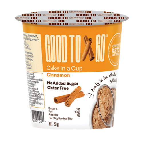 Good To Go Cake in A Cup Cinnamon 50 grams