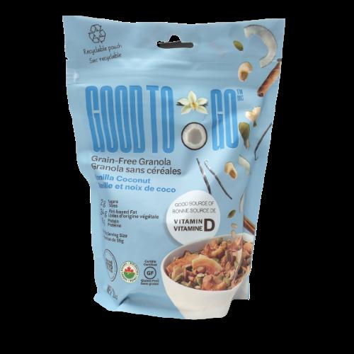 Good To Go Grain-Free Granola Vanilla Coconut 200 grams
