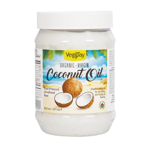VegiDay Organic Coconut Oil 800 ml