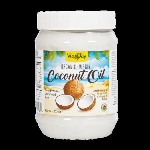 VegiDay - Organic Coconut Oil 800 mL