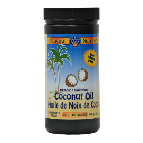 Omega Nutrition Organic Coconut Oil 908 grams