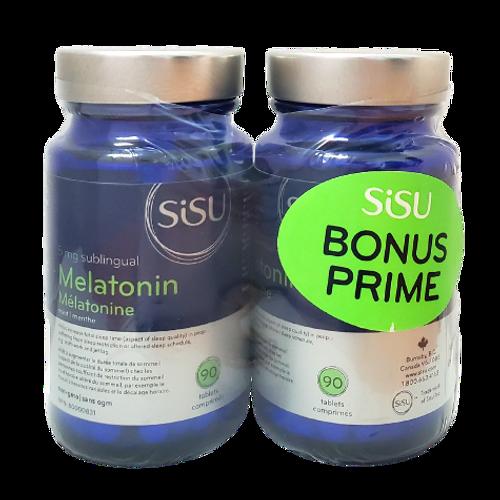 SISU - Melatonin 5 mg Bonus Pack x2