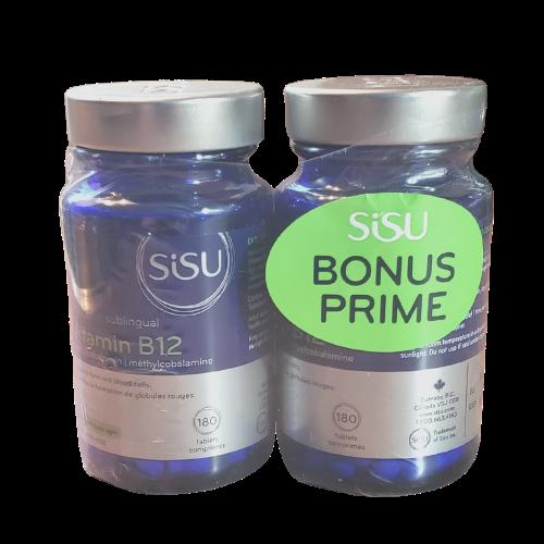 SISU Vitamin B12 Bonus 2 x 180 tablets