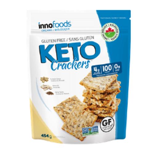 Innofoods KETO Crackers 454 grams