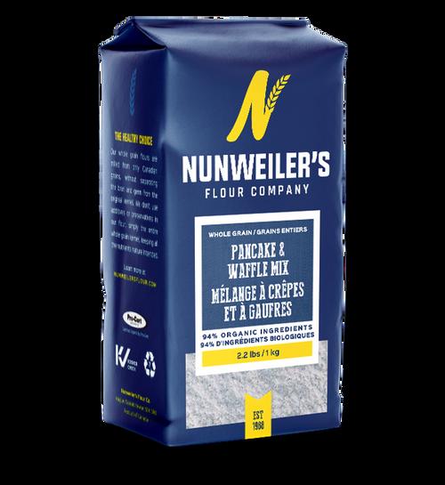 Nunweiler's Whole Grain Pancake and Waffle Mix 1 kg