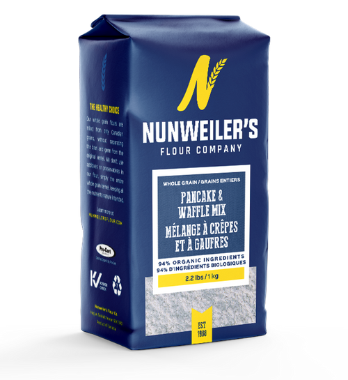 Nunweiler's Whole Grain Pancake and Waffle Mix 1 kg