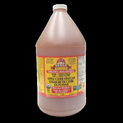 Bragg Organic - Raw-Unfiltered Apple Cider Vinegar 3.785 litres