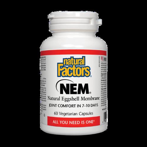 Natural Factors - NEM Natural Eggshell Membrane Canada