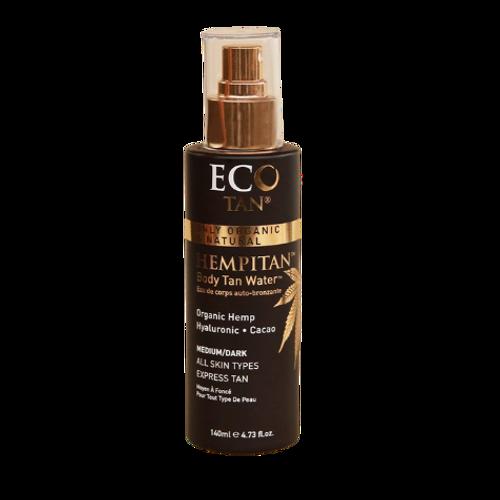 Eco Tan - Hempitan Organic Hemp Medium/Dark Body Tan Water 140 ml
