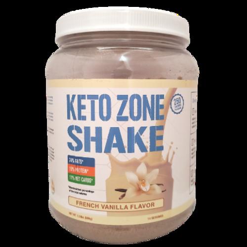 Divine Health Dr. Colbert - Keto Zone Shake French Vanilla Flavor