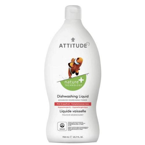 Attitude - Pink Grapefruit Dishwashing Liquid