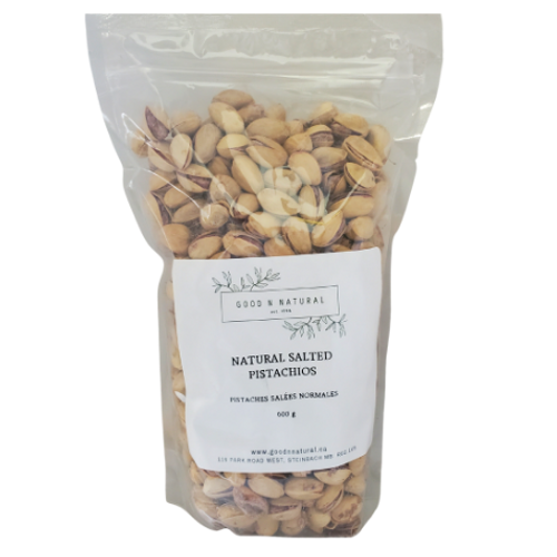 Good n Natural - Natural Salted Pistachios