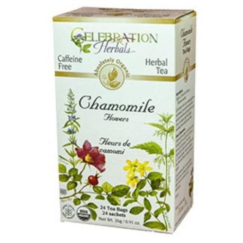 Celebration Herbals organic natural herbal Camomile Flowers tea.