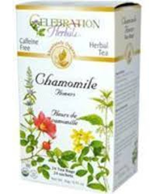 Celebration Herbals Chamomile Flowers Herbal Tea 24 tea bags