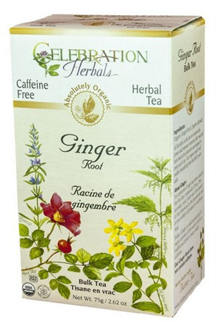 Celebration Herbals Ginger Root Organic Herbal Tea 24 tea bags