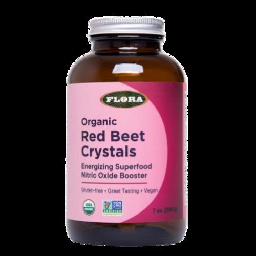 Flora Organic Red Beet Crystals Energizing Superfood 200 grams