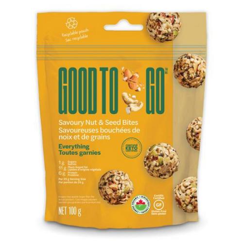 Good to Go - Everything Savoury Nut & Seed Bites 100grams