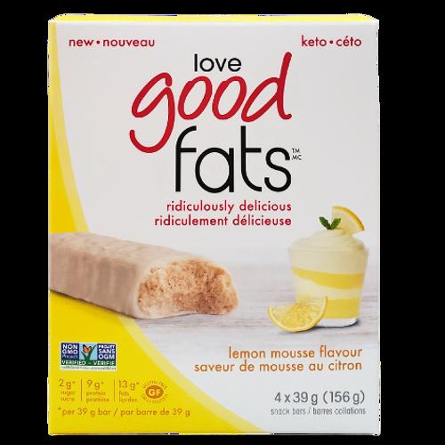 Love Good Fats - Lemon Mousse Flavour Snack Bar