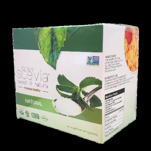 Crave Stevia - Sweet & Natural Premium Quality Natural Stevia Powder Packets
