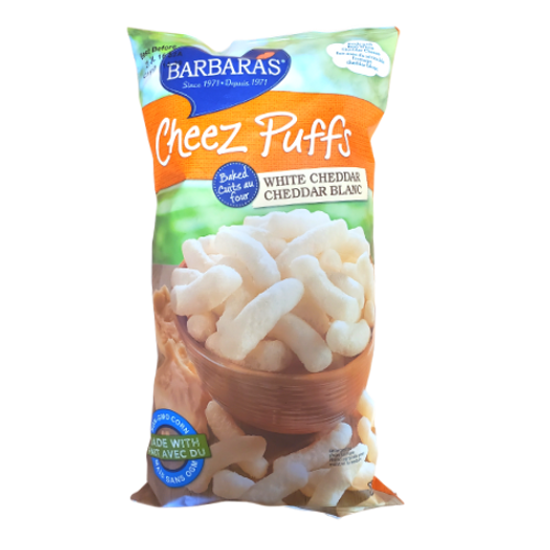 Barbara's  White Cheddar Baked Cheez Puffs 155 grams