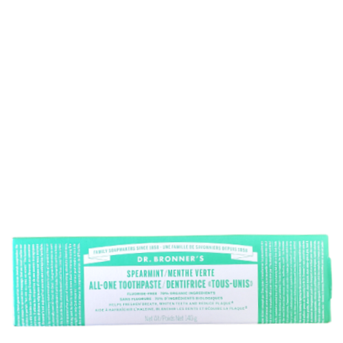 Dr. Bronner's - Spearmint All-One Toothpaste Box