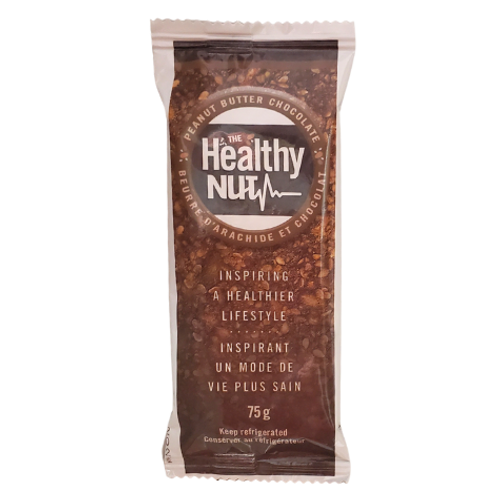 The Healthy Nut - Peanut Butter Chocolate Healthy-Nut Bar Package