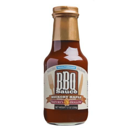 Nature's Hollow HealthSmart Hickory Maple BBQ Sauce 355ml