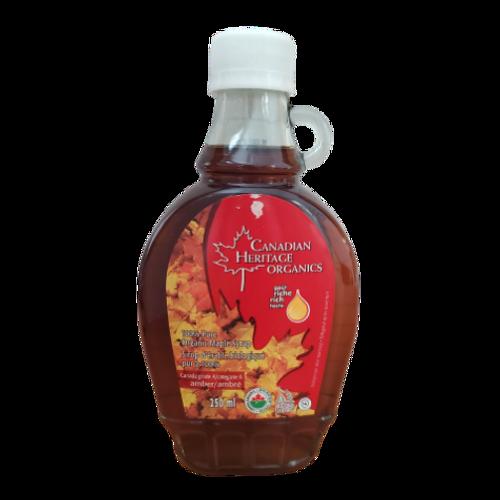 Canadian Heritage Organics - 100% Pure Organic Maple Syrup 250 ml