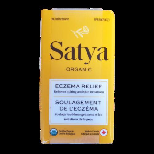 Satya Organic Fragrance Free Eczema Relief Balm 7ml