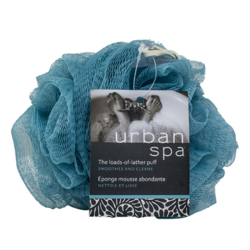 Urban Spa - The Loads-Of-Lather Puff Pastel Blue
