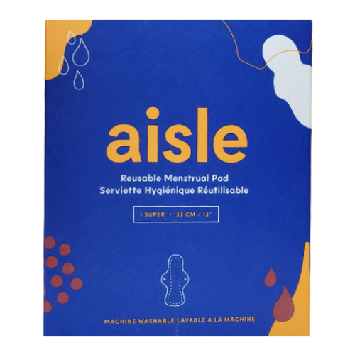 Aisle - Reusable Super Menstrual Pad  box image